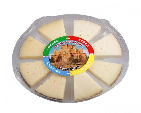 Spanische Käseplatte