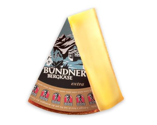 Bündener Bergkäse